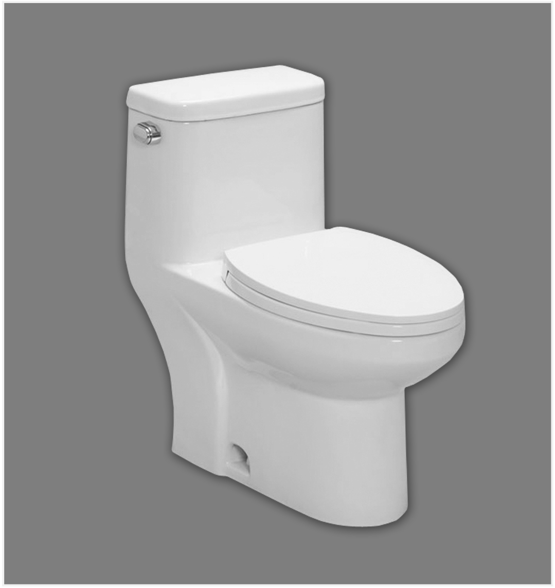 Mainline Collection - Elongated 1 PC Toilet