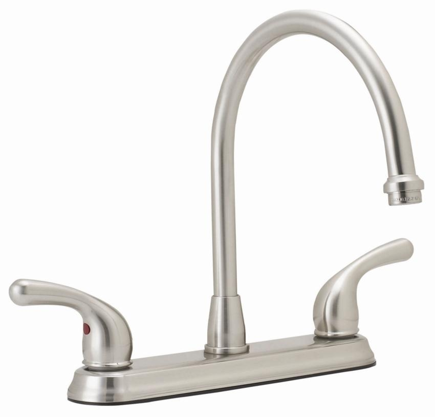 Mainline Collection - Continental 20.20 GPM Kitchen Faucet Two Handle | (title} | 1.5 gpm kitchen faucet